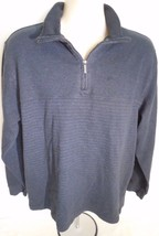 Van Heusen 1/2 Zip Up Black Sweater Size XL Mens - $9.74