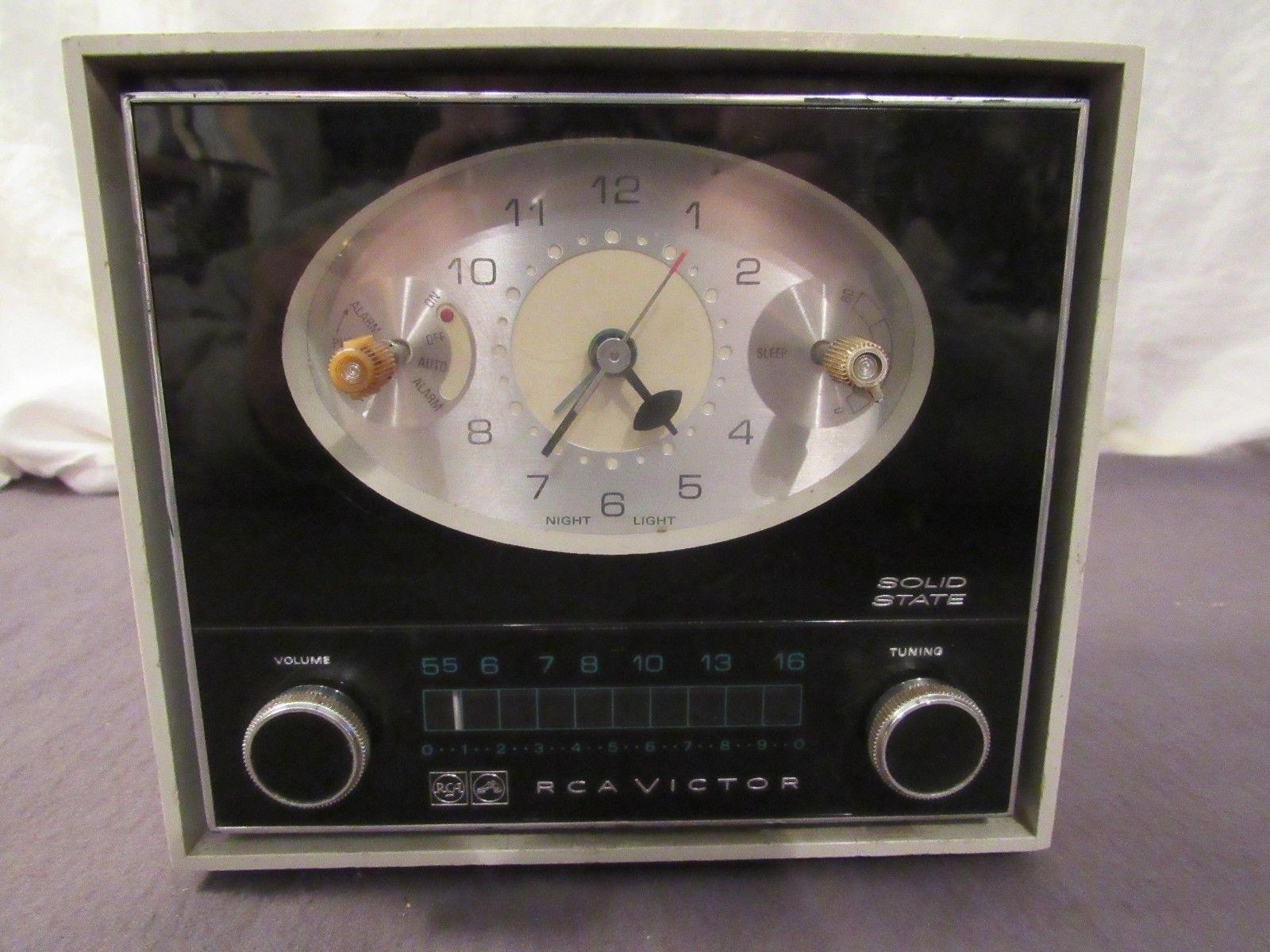 Vintage RCA Victor Clock Radio Model RHD25J and 48 similar items