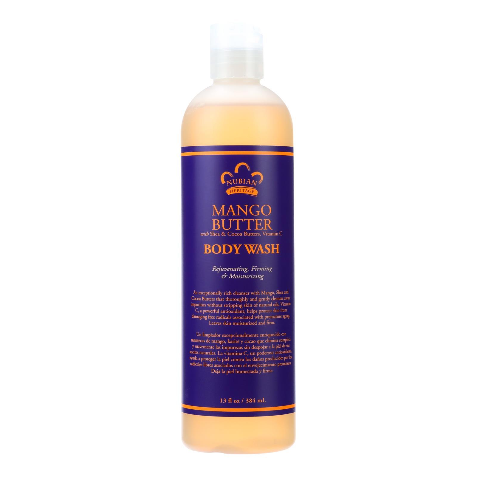 Primary image for Nubian Heritage Body Wash Mango Butter - 13 fl oz