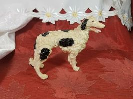 Borzoi Russian Wolfhound Resin Figurine Black and White image 5