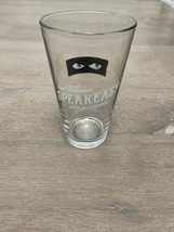 SpeakEasy Ales and Lagers - San Fransico Beer Glass - Face Born And Brewed - $14.00