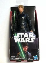 "Star Wars Luke Skywalker 6"" figurine Hasbro Disney New - $6.85"