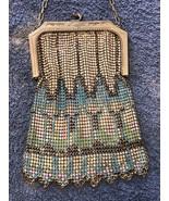 WHITING and DAVIS Co. Gold Tone Mesh Art Deco Bag Circa 1930's - $289.10