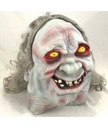Halloween Mask Ghoul Gruesome Monster Scary Creepy Hairy Smile-Vinyl - $46.74