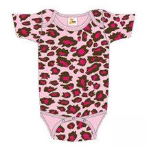 Newborn Pink Leopard Print Onesie Size 8-13 Pounds - $15.00