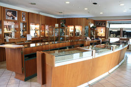 Boucles D'Oreilles en or Jaune 750 18K Perles Fw Et Goutte Peint A Main en Italy image 5