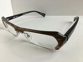 New Vintage ALAIN MIKLI A 0474 36 52mm Havana Semi-Rimless Eyeglasses Frame - $329.99