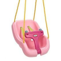 Little Tikes 2-in-1 Snug 'n Secure Swing, Pink - $33.86