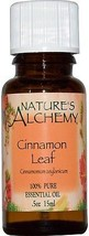 Nature's Alchemy, Cinnamon Leaf, Essential Oil, .5 oz (15 ml) - $15.03