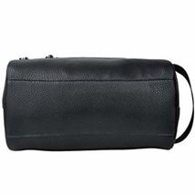 Men Toiletry Travel Bag Shave Kit Leather Organizer Dopp Shaving Accesso... - €15,62 EUR