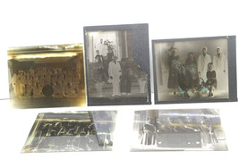 5 Early 1900s Glass Plate Slide Negative East Syracuse NY Period Photos ... - $84.14