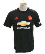 Adidas ClimaChill Black Manchester United Third Jersey Short Sleeve Men'... - $98.24
