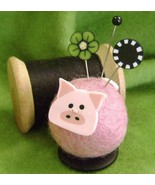 Polly Pig Button Buddies pincushion kit JABC Just Another Button Co - $17.05