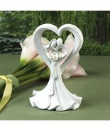 Couple's Love Embrace Heart Cake Top - $42.24