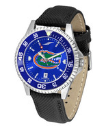 Florida Gators Licensed Men Competitor Leather AnoChrome Watch Bezel - $103.50