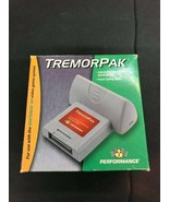 Nintendo 64 N64 COMPLETE IN BOX Performance TremorPak Vibration Pack Con... - $34.60