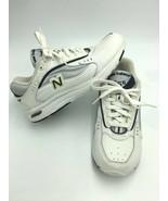 New Balance Womens 8 B 555 White Pink Ribbon Walking Shoes SL-2 Fit - $24.99