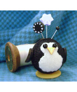 Penny Penguin Button Buddies pincushion kit JABC Just Another Button Co - $17.05
