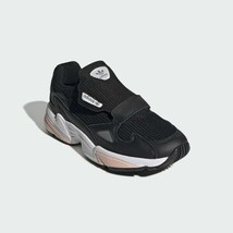 adidas FALCON RX SHOES womens Core Black / Glow Pink / Grey Three EE5112... - $118.80
