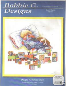 Sleep Tight Counted Cross Stitch Kit Bobbie G Designs Bobbie G Designs