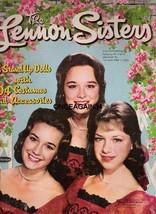 VINTAGE UNCUT '61 LENNON SISTERS PAPER DOLLS~#1 REPRODUCTION~ 20 PAGES C... - $21.99