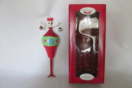 """Russ Berrie Hand Painted Ornament, Noelle Decor-The Masquerade Ball, 8"""" with Box - $9.99"""