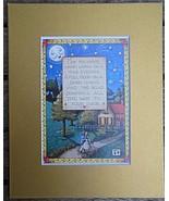 """Mary Engelbreit Print Matted 8 x 10"""" """"Warm Words"""" - $16.40"""