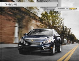 2015 Chevrolet CRUZE sales brochure catalog US 15 Chevy LT LTZ Eco Diesel - $6.00