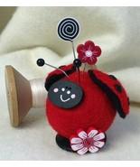 Lily Ladybug Button Buddies pincushion kit JABC Just Another Button Co - $22.50
