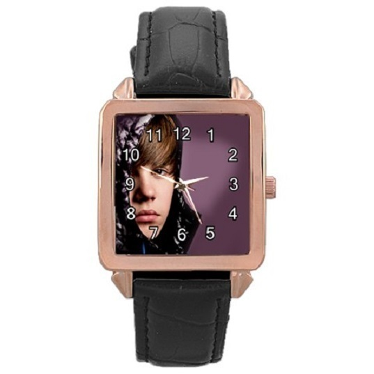 Ladies Rose Gold Leather Watch Justin Bieber Gift model 37761291