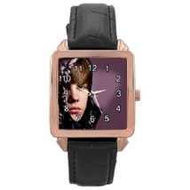 Ladies Rose Gold Leather Watch Justin Bieber Gift model 37761291 - $19.99