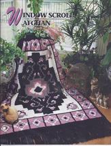 Window Scroll Afghan Crochet Pattern~Annie's Quilt & Afghan Club~RARE - $24.99