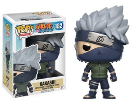 Funko POP Anime: Naruto Shippuden Kakashi Toy Figure no 182 - $15.99