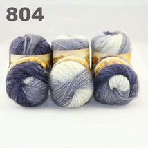 6x50gr Skeins NEW Chunky Hand Coarse Knitting Scores wool yarn Light Gre... - $51.00