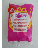 McDonalds 1999 Barbie Sleeping Beauty Figurine No 2 Mattel w/ Accessorie... - $4.99