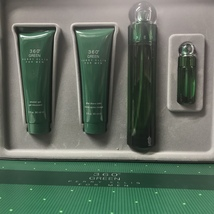 360 Green by Perry Ellis 4-PCs MEN Set, 3.4 OZ + MINI + Aftershave + Shower Gel - $39.98