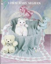 RARE~Floral Baby Afghan Crochet Pattern~Annie's Attic - $29.99