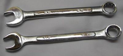 combination wrenches One-half & Nine Comb. Wrench Bonanza