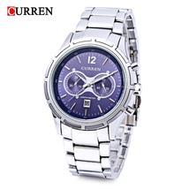 Curren 8045 Men Quartz Watch Date Display 3ATM Luminous Wristwatch - $21.25
