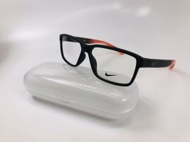 New NIKE 7092 603 Mate Burgundy & Ash Fade Eyeglasses 57mm with Case - $74.20