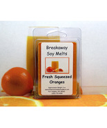 Fresh Squeezed Oranges Breakaway Clamshell Soy Wax Tart Melt - $3.50