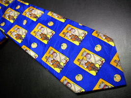 Keith Daniels Dress Neck Tie Thanksgiving Meeting between Pilgrims and Indians - $9.99