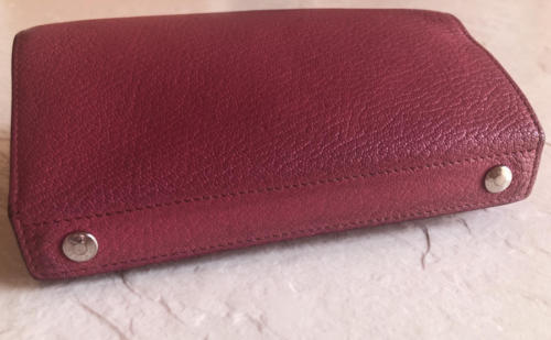 8d20d162bb69 Auth Hermes Pink Fuchsia Chevre PM Karo PHW and 37 similar items