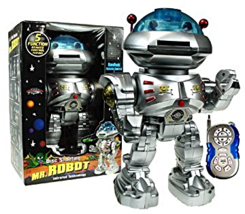 Mr Robt Remote Disc Shooting Rapid-Fire & Dancing Robot - $31.85