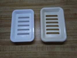 Plastic two tiered soap dish - $24.65