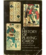 the history of playing cards gaming by catherine hargrave - $19.99