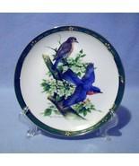 Danbury Mint Bluebirds Collector Plate 1990 Songbirds of RT Peterson - $14.99