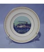Danbury Mint Rounding a Bend Collector Plate Currier & Ives Copenhagen - $14.99