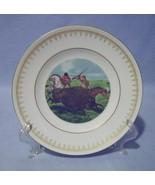 Danbury Mint The Buffalo Hunt Collector Plate Currier & Ives Copenhagen - $14.99