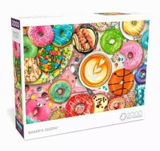 2000 Piece Jigsaw Puzzle Buffalo Games 38 in x 26 in, Baker's Dozen - NEW - $31.30